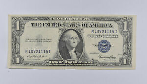 Crisp - 1935-E United States Dollar Currency $1 Silver Certificate *352
