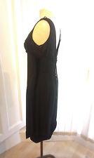 1960 Vintage Dress Black Velvet Original Clothing