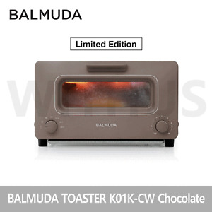 BALMUDA Steam Toaster Premium K01K-CW Limited Edition Chocolate 220V Korean Ver.