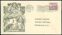 5/30/33 USS Akron Disaster In Memoriam, LAKEWOOD STAMP CLUB, Lakehurst, SC #727!