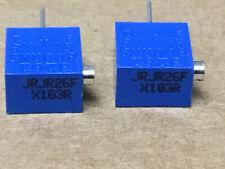 (2 PC)  BOURNS  RJR26FX103R  Resistor Variable Cermet Type 10K Ohm 10%