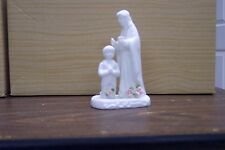 """Touch of Rose Jesus & Boy 4-1/2"""" tall ceramic First Communion figurine- by Roman"""