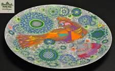 ROSENTHAL studio-linie Wandteller Sammelteller Vogel Paradievogel Phönix  32,5cm