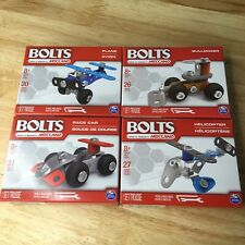 Meccano BOLTS Set of 4 Mini Building Sets NEW IN BOX