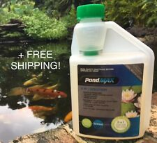 PondMAX 3 in 1 Solution Pond Treatment 500ml for algae/weed/sludge+FREE SHIPPING