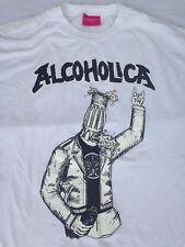 ALCOHOLICA METALLICA T SHIRT PUNK ROCK XL