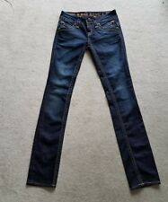 ROCK REVIVAL JEANS W/CRYSTALS GWEN STRAIGHT SZ. 25