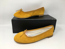 Brand New in Box Repetto Cendrillon Ballet Flat Suede FR38/US6.5, Brown