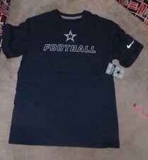 NEW NFL Dallas Cowboys NIKE Football  T Shirt Youth Boys L Large 14 16 Blue NWT