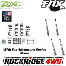 "Zone 4.25"" Suspension Combo Lift Kit Jeep Wrangler TJ LJ 97-06 W/ Fox IFP 2.0 S"