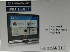 "New Rand McNally TND Tablet 8"" Truck GPS and Android Tablet Combo w/ Dash Camera"