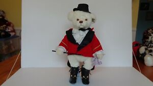 """Annette Funicello Collectible Bears """"Ring Master"""" W/Stand 15"""" Tall EC"""