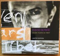 David Bowie 7 Years Tibet  MAXI CD MINT/ Case NM Rare in this Order 3 Tracks BMG