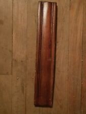 Antique Carved Walnut Curved Drawer or Accessory Trim Panel Pediment (3)