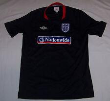 Umbro England National Football Soccer Short Sleeve Training Jersey Shirt YXL