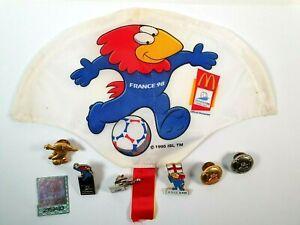 World Cup Logo - France 98 - Memrobilia - Badges etc - Football - Soccer