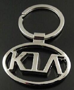 KIA Key Ring NEW - Silver Chain Keyring Car