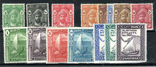 More details for zanzibar 1936 values to 7s.50 and 1944 bicentenary set mlh