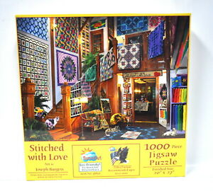 Stitched With Love Jigsaw Puzzle 1000 Piece