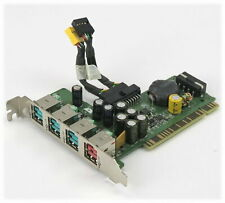 HP 4-Port PCI Powered USB Card rp5700 P/N: 445776-001 With Cables