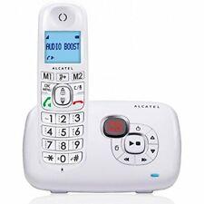Alcatel XL385 Seniorentelefon  mit Anrufbeantworter weiss wie NEU !!!