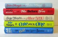 Lot 5 Jojo Moyes books (HC) One Plus One, Me Before You, After, Paris for One