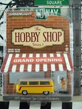 '17 GREENLIGHT 1975 VW VOLKSWAGEN TYPE 2 BUS & BACKPACKER THE HOBBY SHOP SERIES