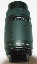 Objectif SIGMA DL ZOOM 75-300 mm