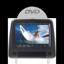 Poggiatesta monitor HD con DVD - USB/SD