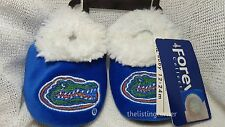 NEW University of Florida Gators Infant 3-6 Month Baby Booties Slippers Soft