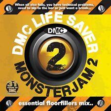 DMC Life Saver Monsterjam 2 Dance Party DJ CD Mixed By Allstar