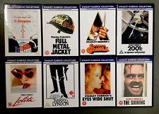 Stanley Kubrick DVDs Shining, 2001, Lolita, Clockwork Orange, Barry Lyndon, Dr