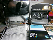 Polaroid P 600  ALL inclusive Instant Camera +READY TO SHOOT PACKAGE /  MINT --