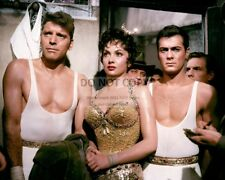 "BURT LANCASTER, GINA LOLLOBRIGIDA & TONY CURTIS IN ""TRAPEZE"" 8X10 PHOTO (DA-243)"