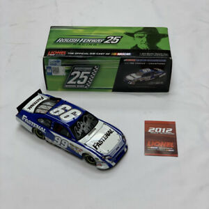 2012 Carl Edwards 1:24 Action Rcca Elite #99 Fastenal Racing Ford Fusion SIGNED