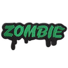 Zombie Devil Monster Ghost Horror Biker Rocker Satan Punk Iron-On Patches #0900