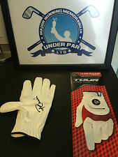 PAUL LAWRIE HAND SIGNED GOLF GLOVE DUNLOP WITH COA