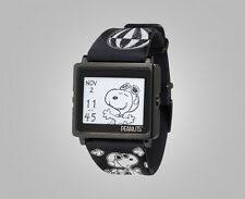New EPSON Smart Canvas matrix EPD Digital Watch Peanuts Snoopy Black Edition EMS