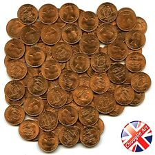 More details for (x250) 1966 british elizabeth ii halfpenny ½d coins (uncirculated)