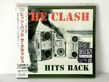 The Clash sealed new Japan Blu Spec CD2 Hits Back 2 CD Digipak neu Punk