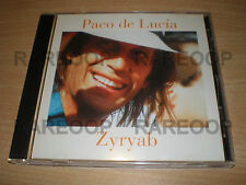 Zyryab by Paco de Lucia (CD, 2003, Universal Music) Edicion Pagina 12 ARGENTINA