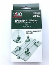 """Kato N Scale 20-027 124mm (4 7/8"""") Road Crossing Track #2 S124C"""