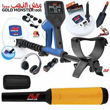 Minelab Gold Monster 1000 with Pro Find 15, 2 Search Coils, Headphones, and More