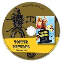 Topper Returns 1941 Classic DVD Film - Comedy, Fantasy, Mystery