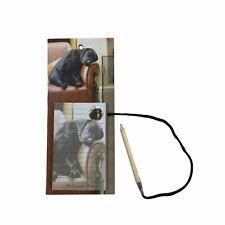 Sleeping Cachorro Labrador Negro Marrón Magnético Cartulina Bloc de Notas
