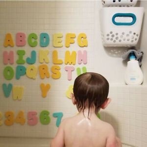 36pcs Baby Bath Toys Floating Foam Letters Numbers Children Educational Toy
