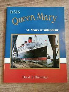 ** Cunard RMS Queen Mary 50 years of splendour book published 1986