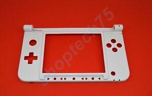 Coque Nintendo 3DS XL châssis inférieur blanc, charnière rechange 3dsxl neuf