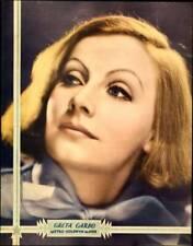OLD MOVIE PHOTO Greta Garbo On Mgm Jumbo Window Cardportrait Poster Poster Circa