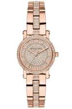 Michael Kors Norie Rose Gold Stainless Steel Bracelet MK3776 Ladies Watch
